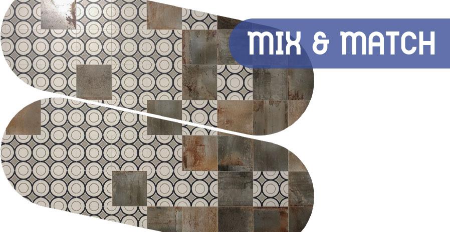 Mix & match Cersaie